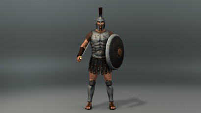 Greek Warrior Animation